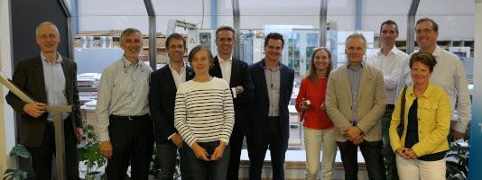 Foto CEOs ontmoeting bij Kewlox