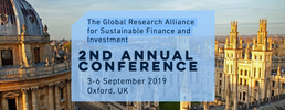 Illustration Global Research Alliance for Sustainable Finance & Invest.