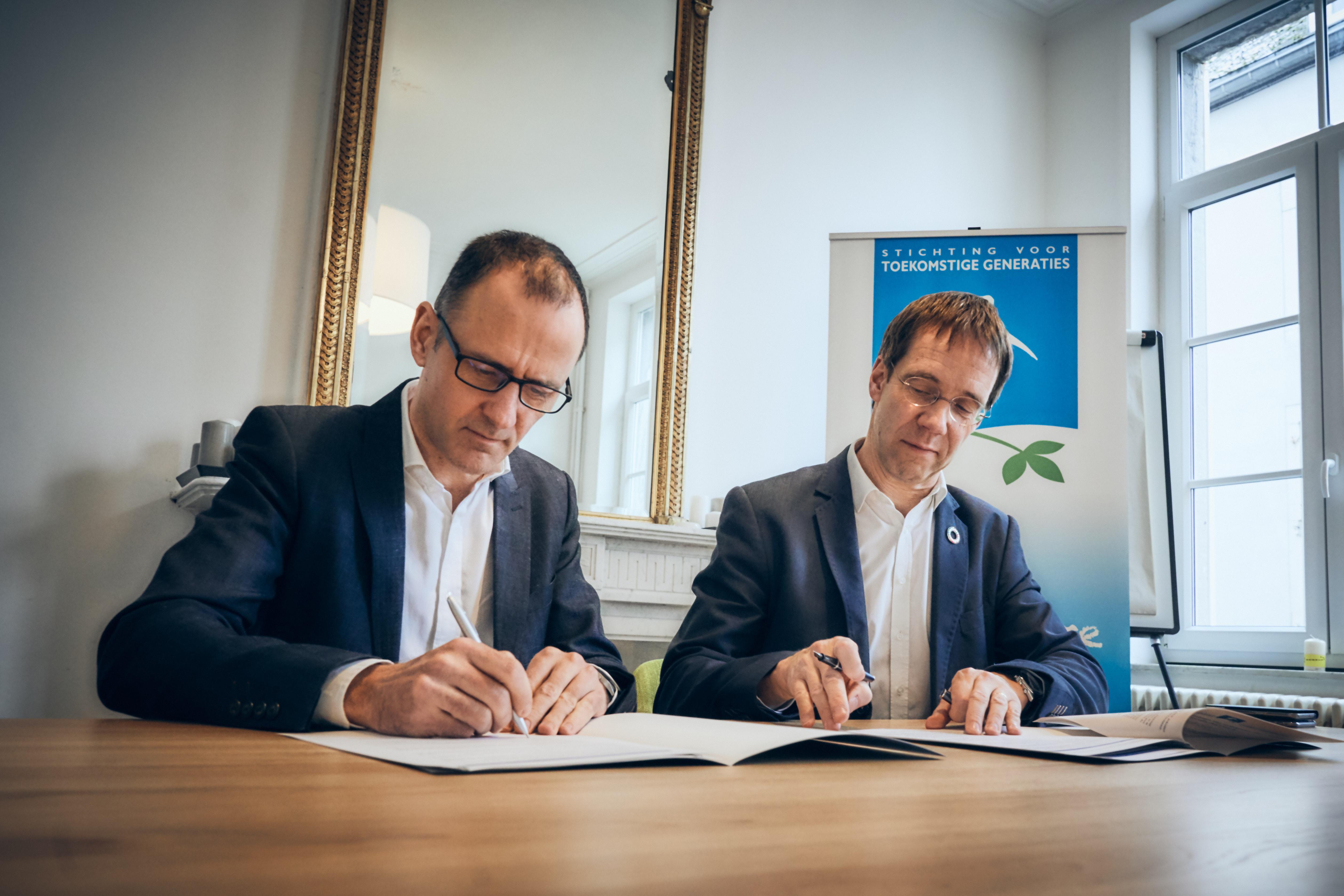 Signature Fonds Aether pour les Générations Futures